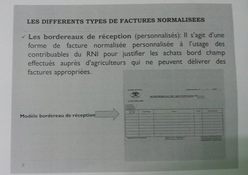 modele facture normalisee